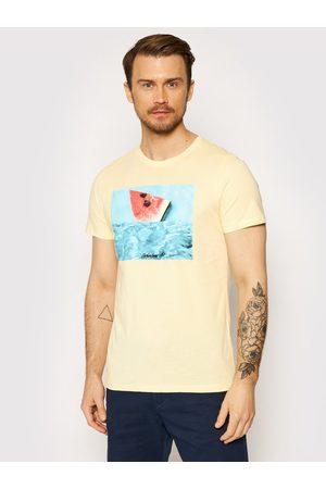 JACK & JONES Mężczyzna Z krótkim rękawem - T-Shirt Summer 12182333 Regular Fit