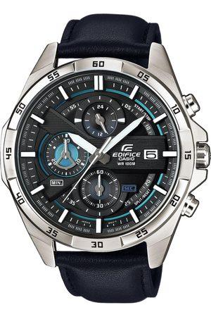 Casio Mężczyzna Zegarki - Zegarek - EFR-556L-1AVUEF Silver/Black