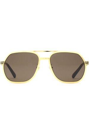 Gucci Mężczyzna Okulary przeciwsłoneczne - Brown