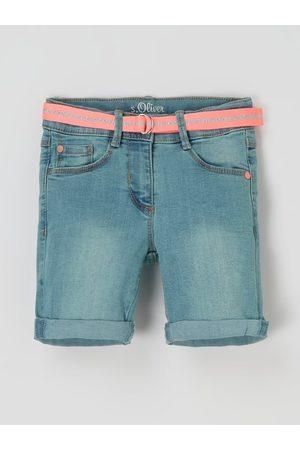 s.Oliver Dziewczynka Bermudy - Szorty jeansowe z dodatkiem streczu model 'Kathy'