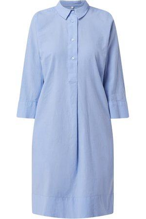 Milano Sukienka z mieszanki bawełny i lnu