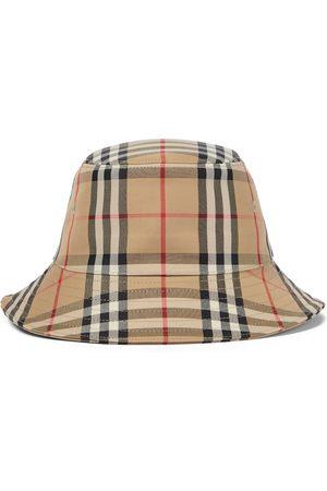 Burberry Vintage Check cotton-blend bucket hat