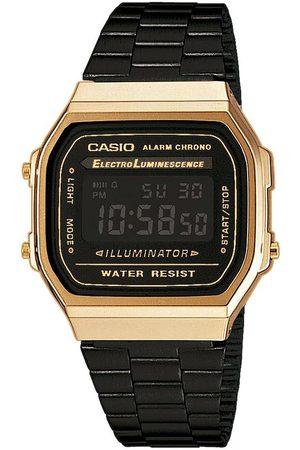 Casio Zegarek - Vintage A168WEGB-1BEF Black/Gold