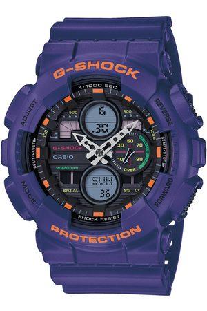 G-Shock Mężczyzna Zegarki - Zegarek - GA-140-6AER Purple/Purple