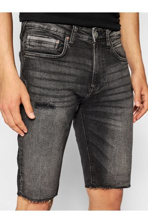 Pepe Jeans Szorty jeansowe Stanley PM800857 Slim Fit