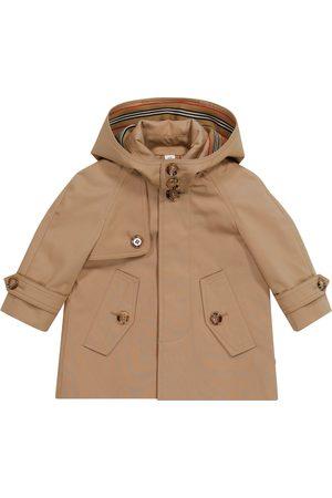 Burberry Płaszcze - Baby cotton twill car coat