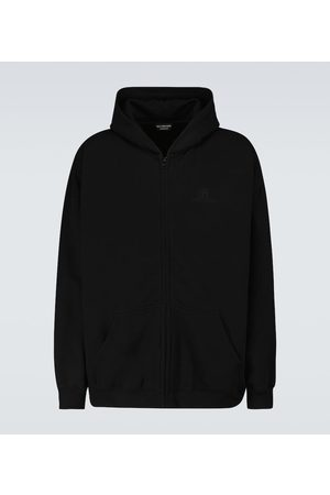 Balenciaga Resort zipped hooded sweatshirt