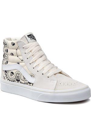 Vans Sneakersy - Sneakersy - Sk8-Hi VN0A32QG42S1M (Bandana) Classic Wht/Blk