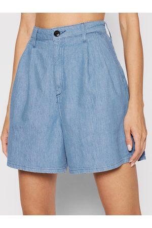 Lee Szorty jeansowe Stella Pleated L37ANBYK Regular Fit