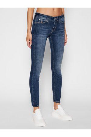 Calvin Klein Jeansy Skinny Fit Ckj 011 J20J214098 Granatowy Skinny Fit