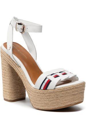 Tommy Hilfiger Espadryle Th Interlace High Heel Sandal FW0FW05612