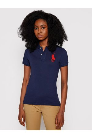 Polo Ralph Lauren Polo 211505656 Granatowy Skinny Fit