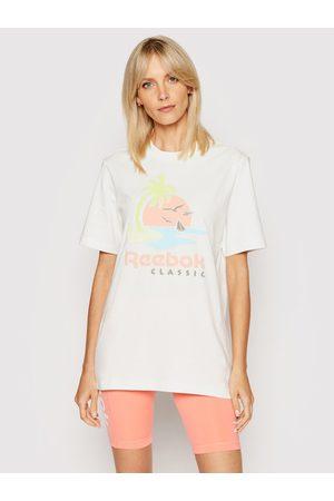 Reebok Z krótkim rękawem - T-Shirt Unisex Classics Graphic GN3670 Regular Fit