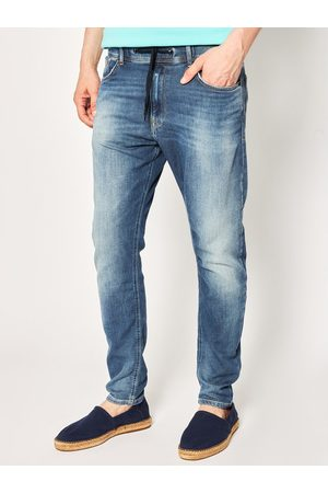 Pepe Jeans Jeansy Johnson PM204385 Granatowy Relaxed Fit