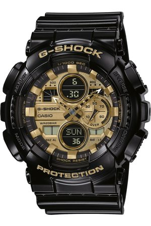 G-Shock Mężczyzna Zegarki - Zegarek - GA-140GB-1A1ER Black/Black