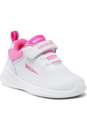 Sprandi Dziewczynka Sneakersy - Sneakersy - CP23-5973(II)DZ White