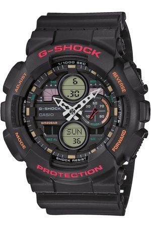 G-Shock Zegarek - GA-140-1A4ER Black/Black