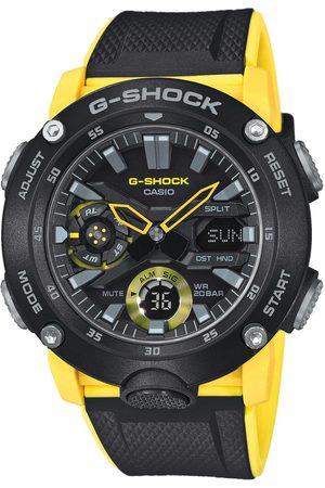 G-Shock Mężczyzna Zegarki - Zegarek - GA-2000-1A9ER Black/Black