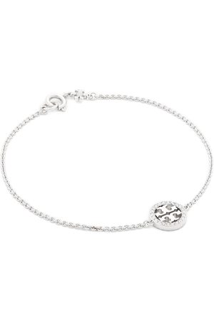 Tory Burch Bransoletka - Miller Pave Chain Bracelet Tory 80997 Silver/Crystal