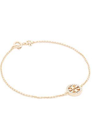Tory Burch Bransoletki - Bransoletka - Miller Pave Chain Bracelet Tory 80997 Gold/Crystal 783