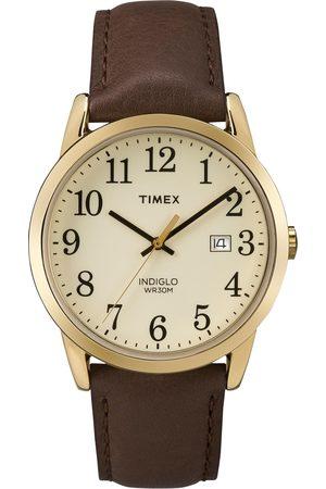 Timex Mężczyzna Zegarki - Zegarek - Easy Reader TW2P75800 Brown/Beige