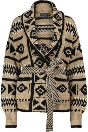 Polo Ralph Lauren Linen and cotton-blend cardigan