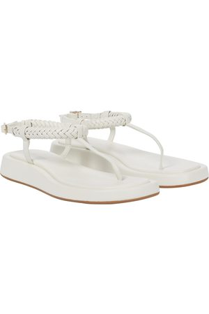 Gia Borghini GIA/RHW Rosie 3 leather thong sandals