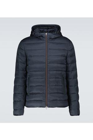 Loro Piana Kurtki zimowe - Gateway down-filled silk jacket