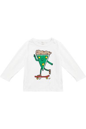 Stella McCartney Baby Pizza Skater cotton jersey T-shirt