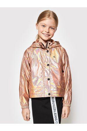 Calvin Klein Kurtka przejściowa Metallic Shine IG0IG00905 Regular Fit