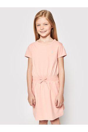 Polo Ralph Lauren Sukienka codzienna Play 312837203007 Regular Fit