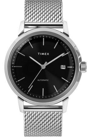 Timex Zegarek - Marlin Automatic TW2T22900 Silver/Black