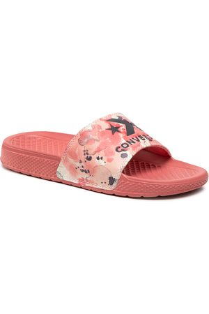 Converse Klapki - All Star Slide Slip 570803C Terracotta Pink/Egret
