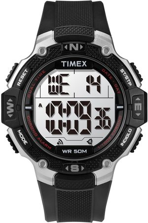 Timex Mężczyzna Zegarki - Zegarek - Rugged TW5M41200 Black/Black