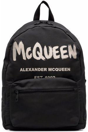 Alexander McQueen Mężczyzna Plecaki - Black