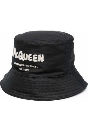 Alexander McQueen Mężczyzna Kapelusze - Black