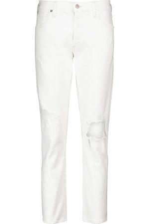 Citizens of Humanity Kobieta Luźne i Boyfriend - Emerson low-rise distressed boyfriend jeans
