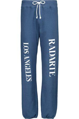 RODARTE Kobieta Spodnie dresowe - Logo cotton sweatpants