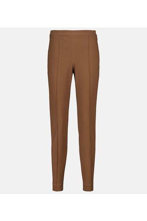 Loro Piana Stretch-cotton cigarette pants