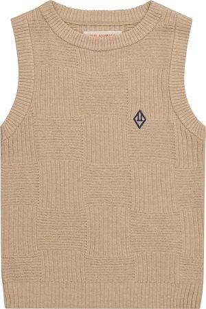 The Animals Observatory Dziewczynka Swetry i Pulowery - Bat sweater vest
