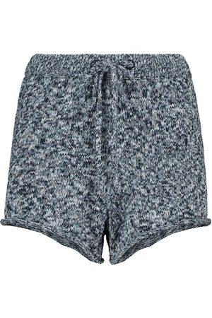 The Upside Kobieta Szorty sportowe - Spacewalker knit shorts