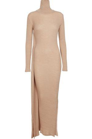 MM6 MAISON MARGIELA Kobieta Sukienki dzianinowe - Wool-blend turtleneck sweater dress