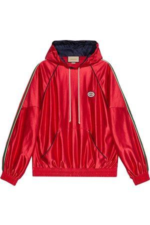 Gucci Mężczyzna Bluzy z kapturem - Red