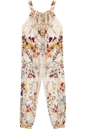 Camilla Dziewczynka Kombinezony - Embellished floral jumpsuit