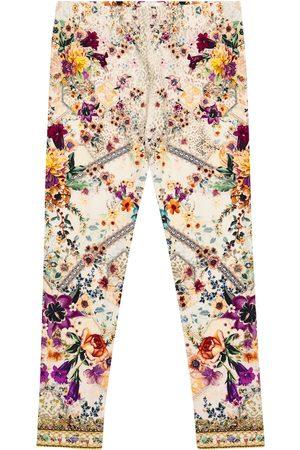Camilla Embellished floral leggings