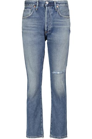 Citizens of Humanity Corey distressed low-rise slim jeans