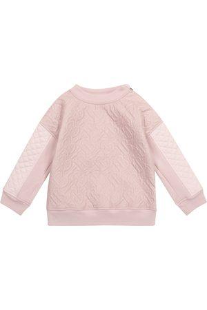 Burberry Dziewczynka Bluzy - Monogram quilted sweatshirt