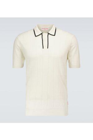 Orlebar Brown Koszulki polo - Price linen and wool polo shirt