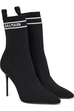 Balmain Kobieta Botki - Skye sock boots