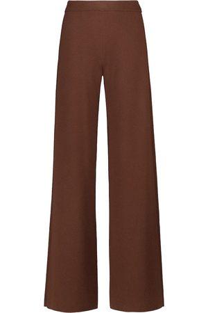 Loro Piana Lex wide-leg cashmere pants
